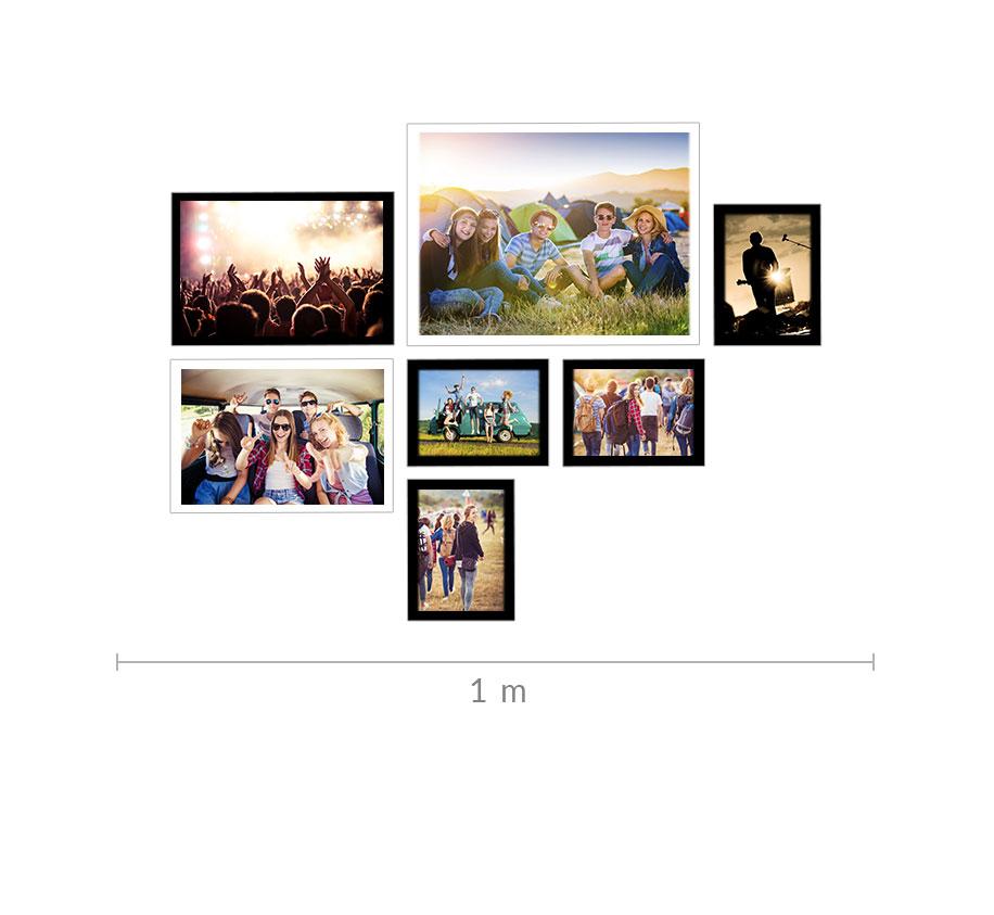 Fotocollage gestalten mit Schablone | ROSSMANN Fotowelt