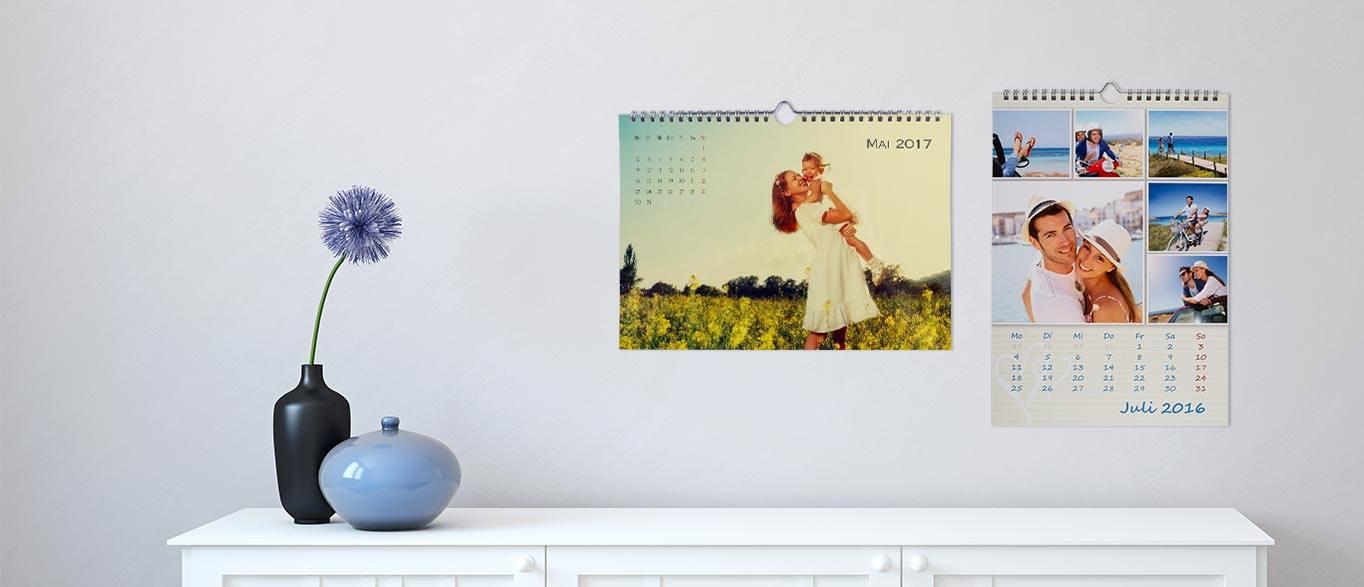 Kalender mit eigenen Fotos gestalten | ROSSMANN Fotowelt