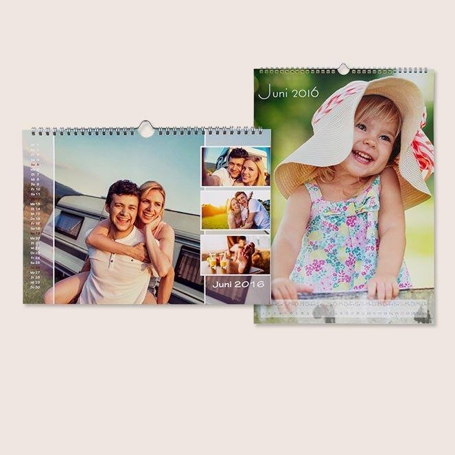 fotokalender selbst gestalten drucken rossmann fotowelt. Black Bedroom Furniture Sets. Home Design Ideas