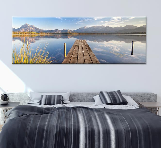 foto auf leinwand g nstig drucken rossmann fotowelt. Black Bedroom Furniture Sets. Home Design Ideas