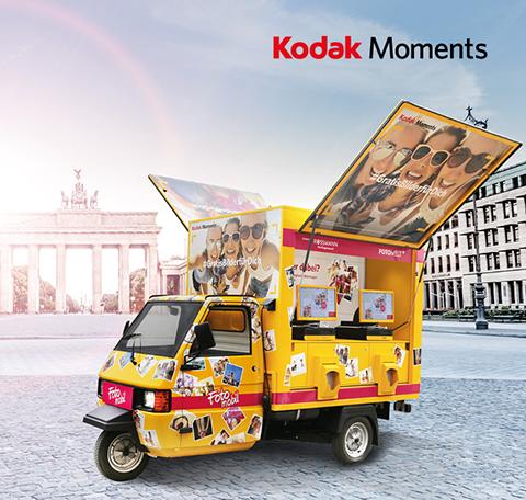Fotos direkt ausdrucken mit dem KODAK Sofort Service bei ROSSMANN